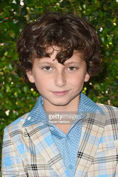 Actor August Maturo attends the Teen Choice Awards 2016 at The Forum on July 31 2016 in Inglewood California
