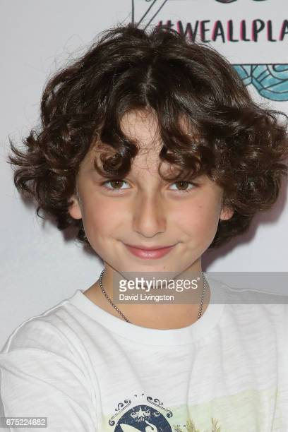 Actor August Maturo attends the WE ALL PLAY FUNdraiser hosted by the Zimmer Children's Museum at the Zimmer Children's Museum on April 30 2017 in Los...