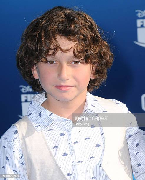 Actor August Maturo attends the world premiere of DisneyPixar's 'Finding Dory' at the El Capitan Theatre on June 8 2016 in Hollywood California