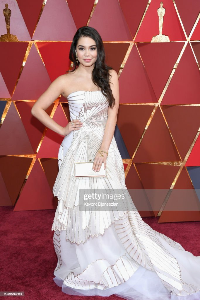 Actor Auli'i Cravalho attends the 89th Annual Academy Awards at Hollywood & Highland Center on February 26, 2017 in Hollywood, California.