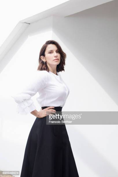 Actor Aure Atika is photographed on May 22 2017 in Cannes France