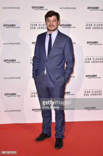 Actor Aurelien Wiik attends the Amazon TV series 'Jean Claude Van Johnson' Premiere at Le Grand Rex on December 12 2017 in Paris France
