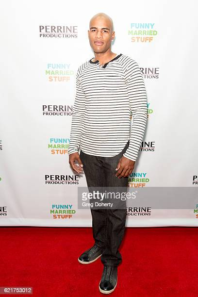 Actor Austen Jaye arrives for the Screening Of Perrine Productions' 'Funny Married Stuff' at the ACME Comedy Theatre on November 7 2016 in Los...
