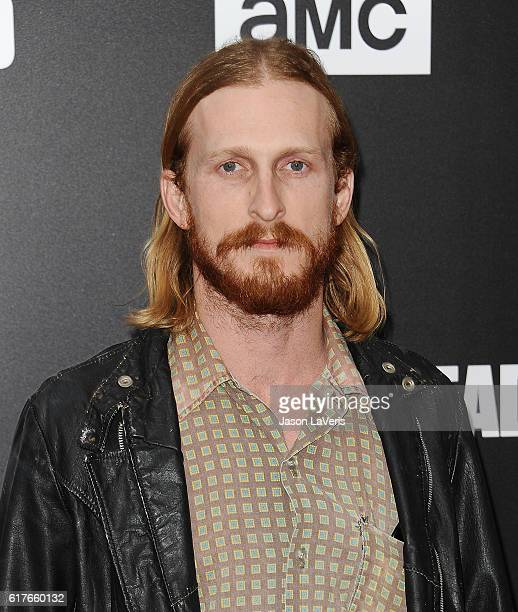 Actor Austin Amelio attends the live 90minute special edition of 'Talking Dead' at Hollywood Forever on October 23 2016 in Hollywood California