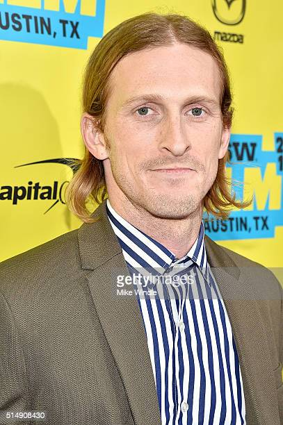 Actor Austin Amelio attends the screening of Everybody Wants Some during the 2016 SXSW Music Film Interactive Festival at Paramount Theatre on March...