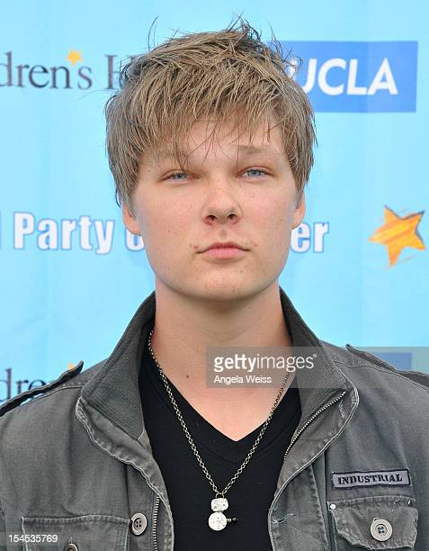 Actor Austin Anderson arrives to the 'Mattel Party on the Pier' benefiting Mattel Children's Hospital UCLA at Pacific Park on the Santa Monica Pier...