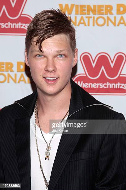 Actor Austin Anderson attends the Wiener Dog NationalsGreen GrassCarpet Film Premiere at Pacific Theatre at The Grove on June 18 2013 in Los Angeles...