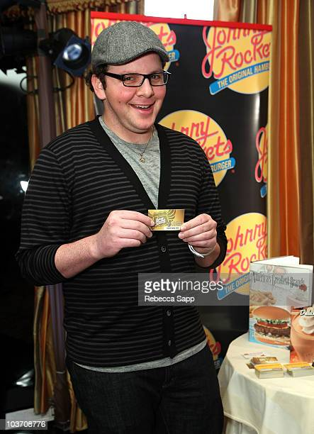 Actor Austin Basis attends the HBO Luxury Lounge in honor of the 62nd Primetime Emmy Awards held at The Four Seasons Hotel on August 29 2010 in...