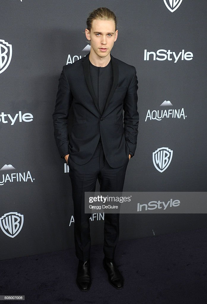 Actor Austin Butler arrives at the 2016 InStyle And Warner Bros. 73rd Annual Golden Globe Awards Post-Party at The Beverly Hilton Hotel on January 10, 2016 in Beverly Hills, California.