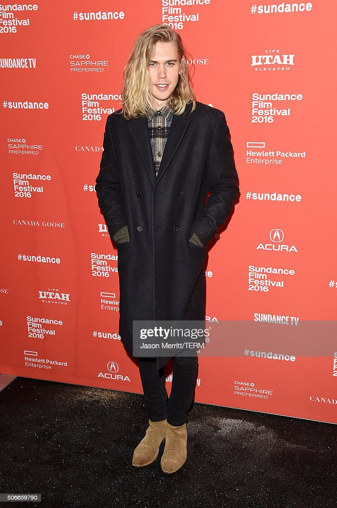 Actor Austin Butler attends the 'Yoga Hosers' Premiere during the 2016 Sundance Film Festival at Library Center Theater on January 24, 2016 in Park City, Utah.