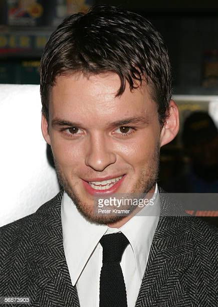 Actor Austin Nichols attends the Disney Pictures screening of Glory Road at the Clearview Chelsea West Cinemas on January 11 2006 in New York City