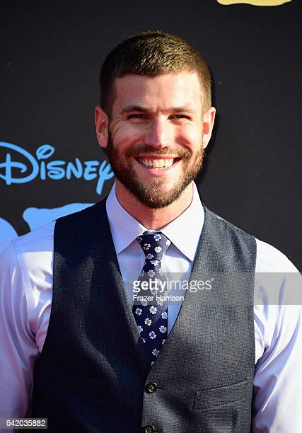 Actor Austin Stowell attends Disney's The BFG premiere at the El Capitan Theatre on June 21 2016 in Hollywood California