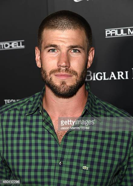 Actor Austin Stowell attends Maxim's Hot 100 Women of 2014 celebration and sneak peek of the future of Maxim at Pacific Design Center on June 10 2014...