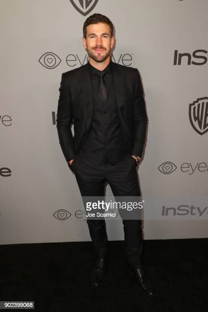 Actor Austin Stowell attends the 2018 InStyle and Warner Bros 75th Annual Golden Globe Awards PostParty at The Beverly Hilton Hotel on January 7 2018...