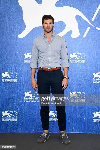 Actor Austin Stowell attends the photocall of 'In Dubious Battle' during the 73rd Venice Film Festival at Palazzo del Casino on September 3 2016 in...