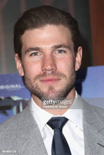 Actor Austin Stowell attends the Premiere Of Neon's Colossal at the Vista Theatre on April 4 2017 in Los Angeles California