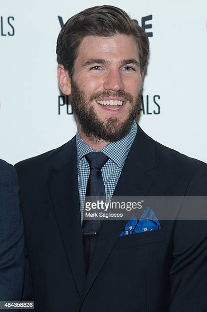 Actor Austin Stowell attends the Public Morals New York Screening at the Tribeca Grand Screening Room on August 12 2015 in New York City