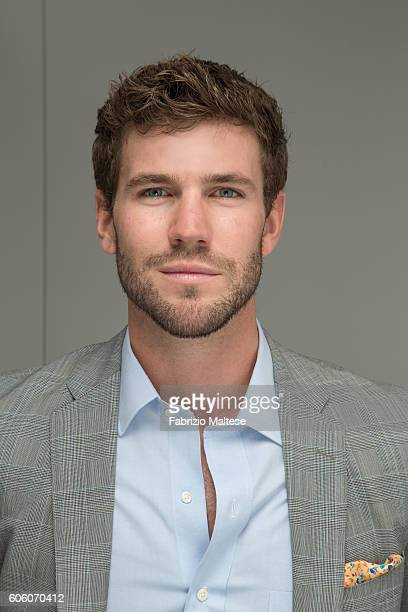 Actor Austin Stowell is photographed for Self Assignment on September 4 2016 in Venice Italy