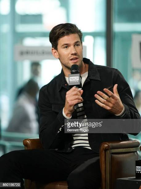 Actor Austin Stowell visits Build to discuss Battle of the Sexes at Build Studio on September 20 2017 in New York City