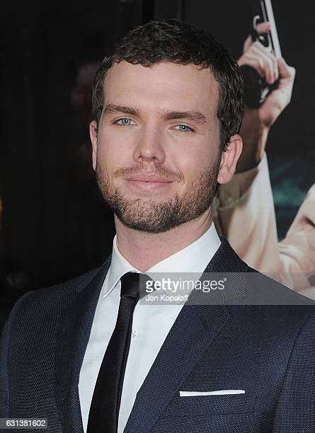 Actor Austin Swift arrives at the Premiere of Live By Night at TCL Chinese Theatre on January 9 2017 in Hollywood California