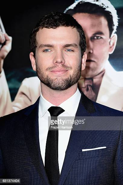 Actor Austin Swift arrives at the Premiere Of Warner Bros Pictures' Live By Night at TCL Chinese Theatre on January 9 2017 in Hollywood California