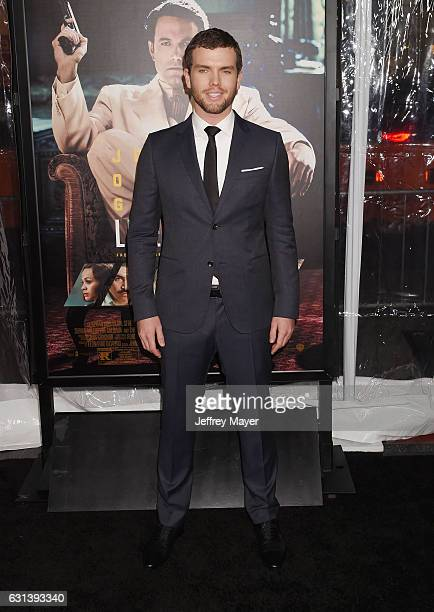 Actor Austin Swift arrives at the Premiere Of Warner Bros Pictures' 'Live By Night' at TCL Chinese Theatre on January 9 2017 in Hollywood California