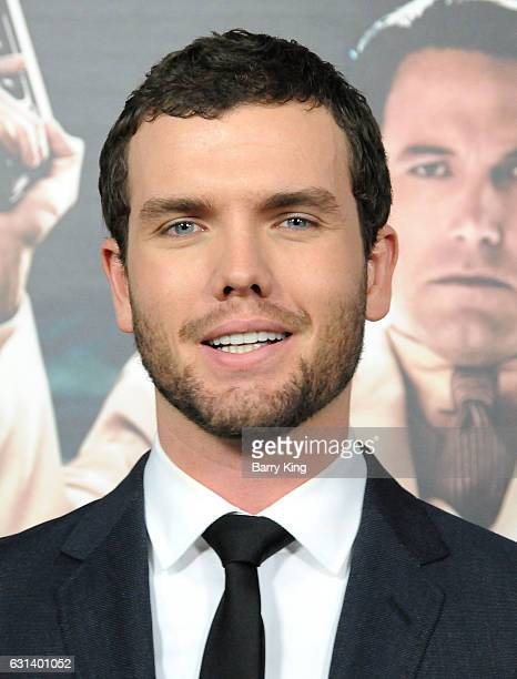 Actor Austin Swift attends the premiere of Warner Bros Pictures' 'Live By Night' at TCL Chinese Theatre on January 9 2017 in Hollywood California