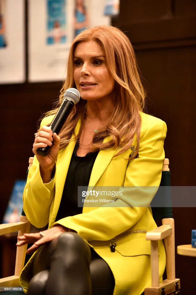 "Roma Downey Signs Copies Of Her New Book ""Box Of Butterflies"""