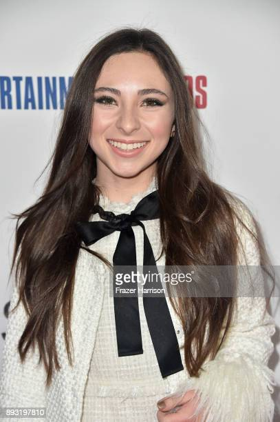 Actor Ava Cantrell attends the premiere of Entertainment Studios Motion Pictures' 'Hostiles' at Samuel Goldwyn Theater on December 14 2017 in Beverly...