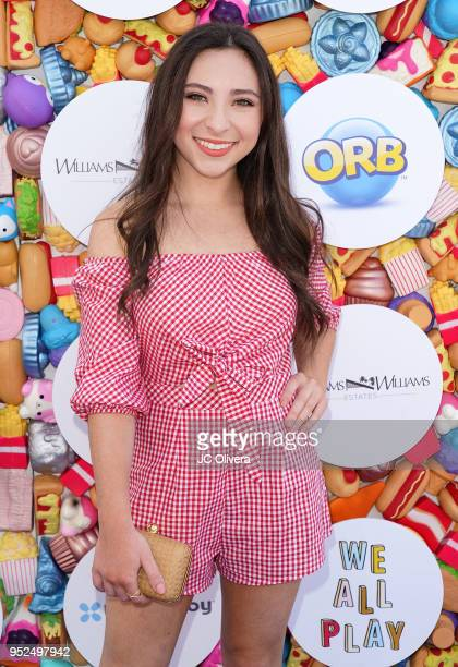 Actor Ava Cantrell attends Zimmer Children's Museum's 3rd Annual We All Play Fundraiser on April 28 2018 in Santa Monica California
