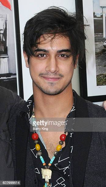 Actor Avan Jogia attends 'Hindsight is 30/40 A Group Photographer Exhibition' at The Salon at Automatic Sweat on November 12 2016 in Los Angeles...