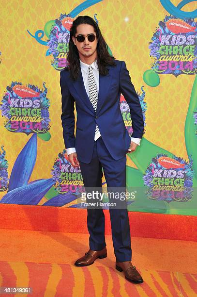 Actor Avan Jogia attends Nickelodeon's 27th Annual Kids' Choice Awards held at USC Galen Center on March 29 2014 in Los Angeles California