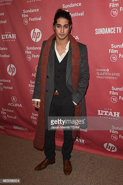 Actor Avan Jogia attends 'Ten Thousand Saints' Premiereduring the 2015 Sundance Film Festival on January 23 2015 in Park City Utah