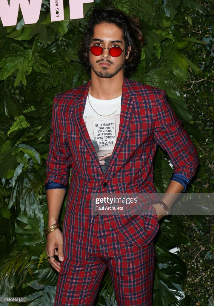Actor Avan Jogia attends the Max Mara WIF Face Of The Future event at the Chateau Marmont on June 12, 2018 in Los Angeles, California.