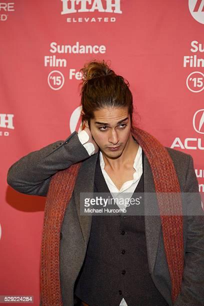 """Actor Avan Jogia attends the """"Ten Thousand Saints"""" premiere at the 2015 Sundance Film Festival"""