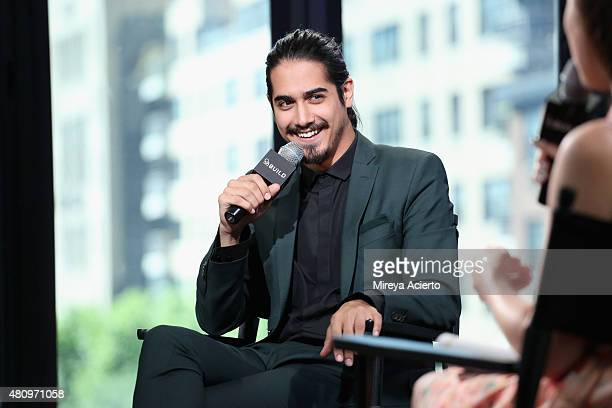 Actor Avan Jogia discusses his new miniseries 'Tut' during AOL BUILD Speaker Series at AOL Studios in New York on July 16 2015 in New York City
