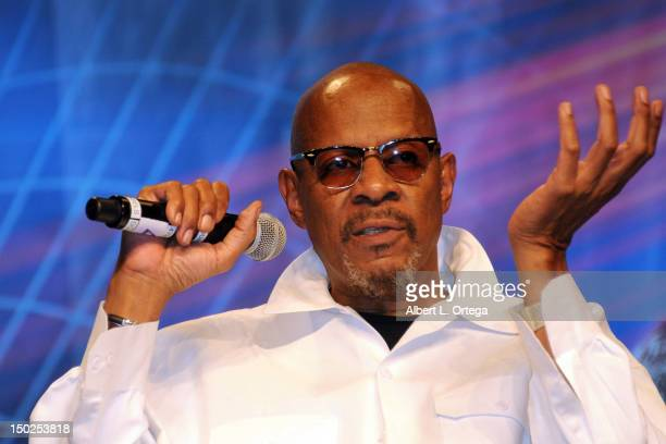 Actor Avery Brooks attends day 4 of the 11th Annual Official Star Trek Convention at the Rio Suites and Hotel on August 12 2012 in Las Vegas Nevada