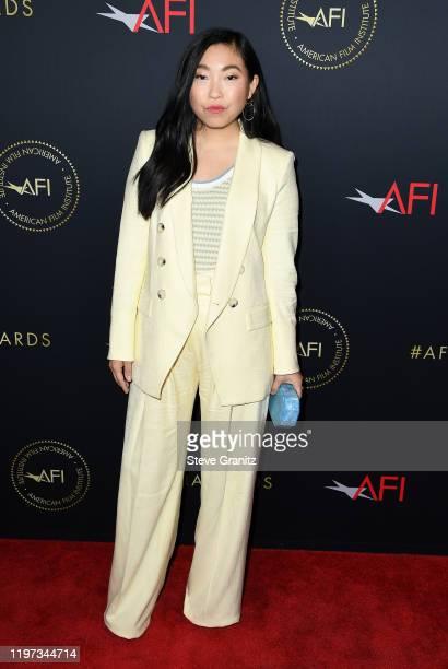 Actor Awkwafina attends the 20th Annual AFI Awards at Four Seasons Hotel Los Angeles at Beverly Hills on January 03 2020 in Los Angeles California