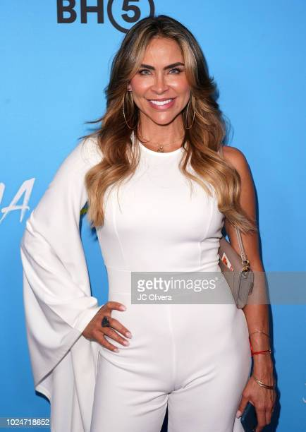 Actor Aylin Mujica attends the premiere of Pantelion Films' 'Ya Veremos' at Regal Cinemas LA LIVE Stadium 14 on August 27 2018 in Los Angeles...