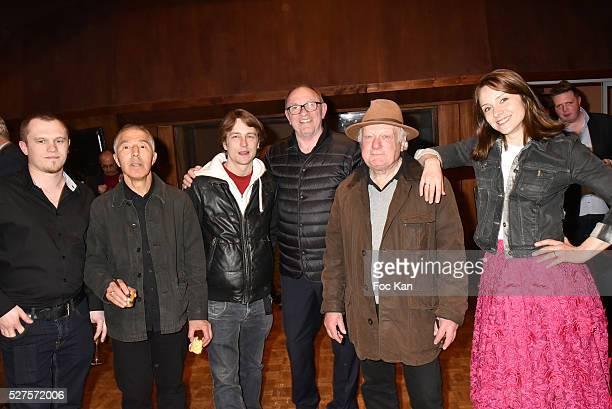 Actor Aymeric Galisson director Idriss Alaouy actor Vincent Rottiers producer Alain Depardieu actors Philippe Nahon and Delphine Depardieu attend La...