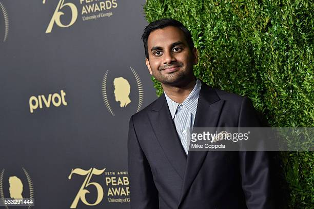 Actor Aziz Ansari attends The 75th Annual Peabody Awards Ceremony at Cipriani Wall Street on May 20 2016 in New York City