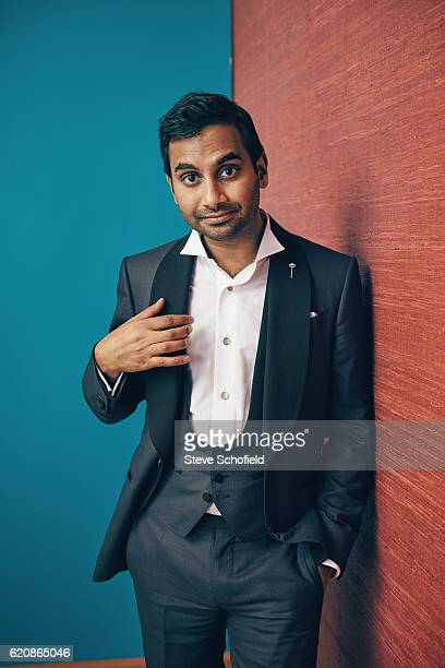 Actor Aziz Ansari is photographed for Emmy magazine on September 18 2016 in Los Angeles California