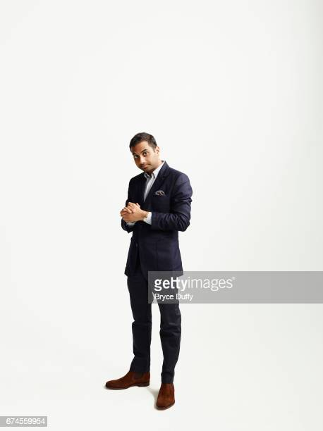 Actor Aziz Ansari photographed for Variety on April 15 in Los Angeles, California.