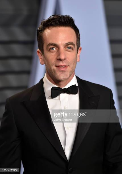 Actor B J Novak attends the 2018 Vanity Fair Oscar Party hosted by Radhika Jones at Wallis Annenberg Center for the Performing Arts on March 4 2018...