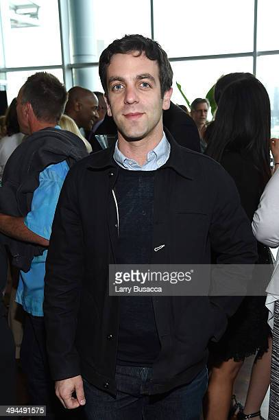 Actor B J Novak attends TIME Inc's 'PEOPLE' Toasts Book Expo 2014 at the Press Lounge at Ink 48 Hotel on May 29 2014 in New York City