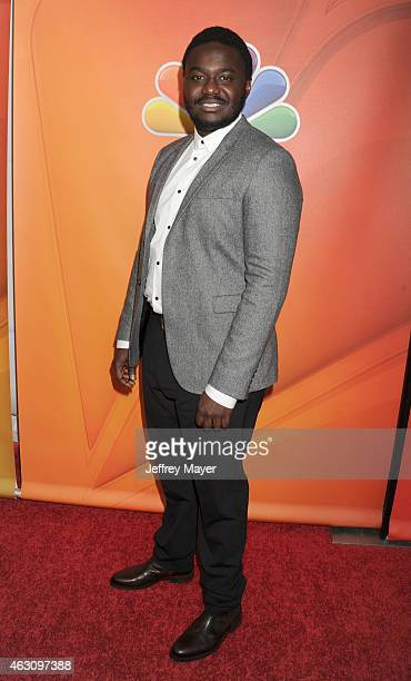 Actor Babou Ceesay attends the NBCUniversal 2015 Press Tour at the Langham Huntington Hotel on January 16 2015 in Pasadena California