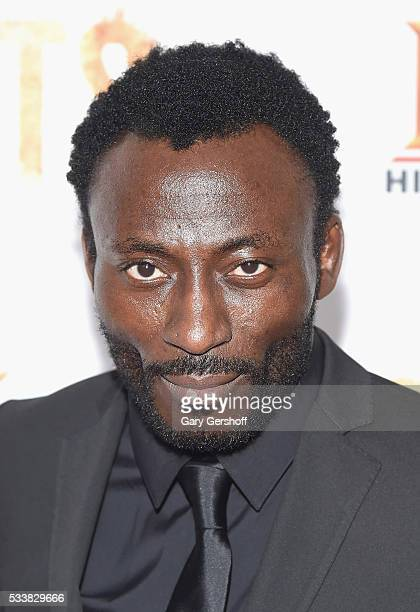 Actor Babs Olusanmokun attends the Roots night one screening at Alice Tully Hall Lincoln Center on May 23 2016 in New York City