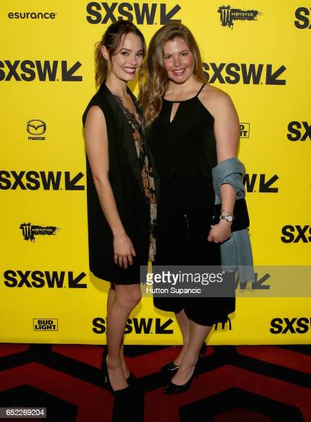 Actor Bailey Noble and Casey Noble attend the premiere of The Archer during 2017 SXSW Conference and Festivals at Alamo Lamar A on March 11 2017 in...