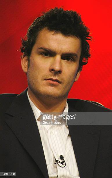 Actor Balthazar Getty answers questions regarding his upcoming series 'Traffic' onstage at the USA Network winter TCA tour at the Renaissance Hotel...