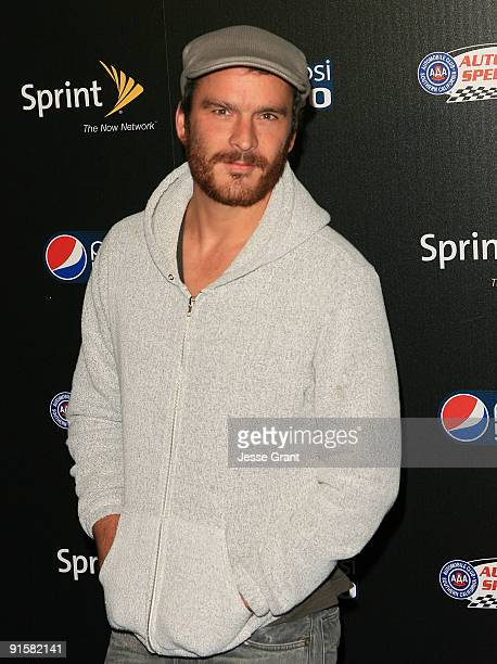 Actor Balthazar Getty arrives at the Auto Club Speedway's Pepsi 500 Celebration at The Roosevelt Hotel on October 7 2009 in Hollywood California